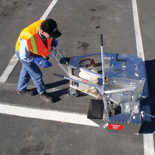 Line marking Commercial Cleaning and Facilities Maintenance